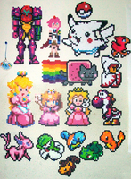 Growing Perler Art Collection by jewlecho