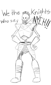 Monty Papyrus and the Holy Spaghetti by RiverSpirit456