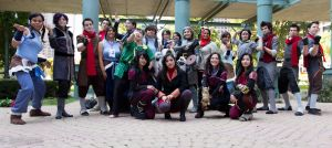 Legend of Korra group shot by Aether-Shadow