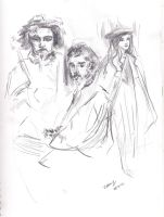 Whistler Study Sketches by Lucy777