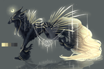 QuillDog: Bringer of the Crying Moon by MischievousRaven