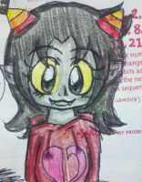planner drawings- neppy in her god tier hoodie X33 by shayminlover492