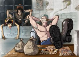 One Piece.Reward. by jen-and-kris