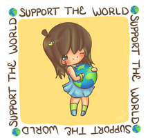 Support the WORLD by stephie-boo