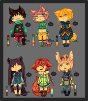 #9 Adoptables CLOSED by MaeNemesis