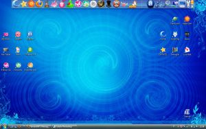 :: Blue Desktop :: by YumeKimino