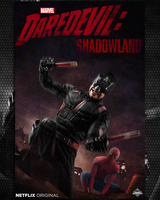 Daredevil Shadowland Poster  by Spider-maguire