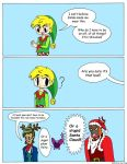 Zelda Christmas Comic by tie-dye-flag