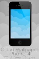 Cloud Wallpaper for iPhone by NKspace