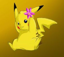 Pikachu Female by MidnightCharizard
