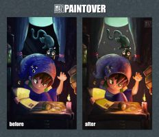 014 Paintover by muzski