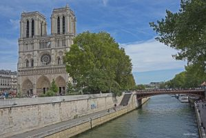 Notre Dame by Yousry-Aref
