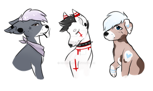 Cheap pups for sale (OPEN) by Ryjeq