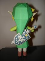 SpiritTracks Link Papercraft by BrunoPigh