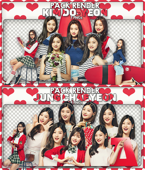 - Pack Render #94#95: Chaeyeon - Doyeon/I.O.I by BYjin-D