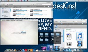 My Mac OS_W7 by veeradesigns