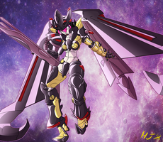 Amatsu Mina Gundamgirl by HelixJack