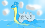 Lapras by Daphneysilly