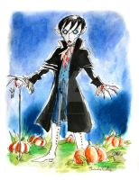 My name is Barnabas Collins by DemonCartoonist
