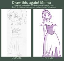 Draw Again: Nooneinparticular by Thatonegirludontknow