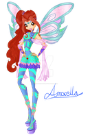 Amorella - Fairy of Hearts - Bloomix by GreatSecretxD