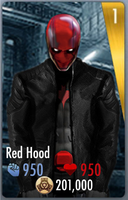 Red Hood Injustice Card (Front) by edrayed
