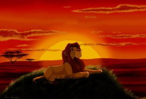 Long live the Lion King by PhoenixMystery