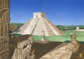 Chichen itza by toniart57