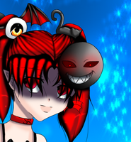 chibi lilith closeup by angelbunny1391