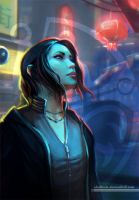Dreamfall Chapters. Zoe Castillo by shalizeh
