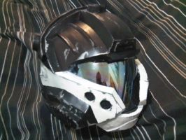 Halo 3 CQB Helmet Cosplay by Sutekhian
