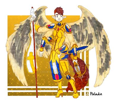 RPG Challenge 3.Paladin by Louvive
