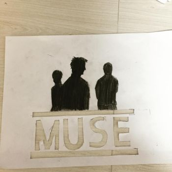 WIP Muse Tribute Art by 312ghosthound