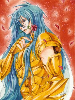 Albafica Gold Saint of Pisces by virak