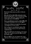 DeathNote Rules Front by DemonicClone