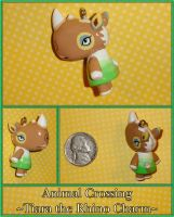 Animal Crossing - Tiara Rhino Charm - Handmade by YellerCrakka