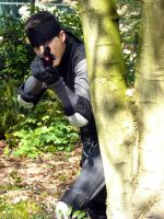 Solid Snake the Sharp Shooter by OneLifeRemaining
