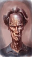 Clint Eastwood by bogdancovaciu