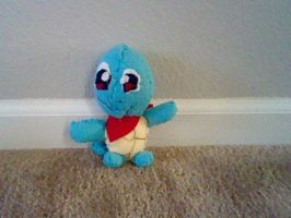 Squirtle Plush by yoshifan12