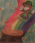 It's not even St Patrick's day by GreenySolitare