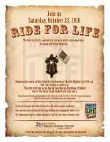 UT Health Science Center's Ride for life by Ashley3d