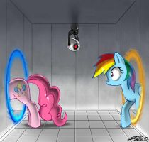 Pinkie Portal... Wait? What? by johnjoseco