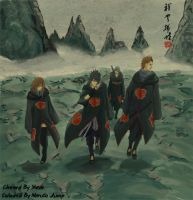 408Sasuke and his team by Sherlock2008
