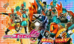 Kamen Rider Ex-Aid Double Action Gamer Level XX by malecoc
