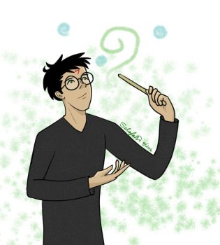 HP - Harry's wonder by Selofain