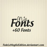 Mis Fonts By FedeLeMoglieEdition by FedeLeMoglieEdition