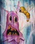 The Blob and The Worm by thisabstraction