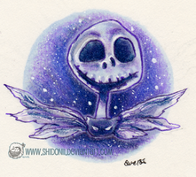 Nightmare Before Christmas - Jack's Portrait by shidonii