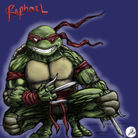 Raphael by DragonScribble