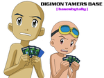 Digimon Tamers Two Males Base by basesbytally